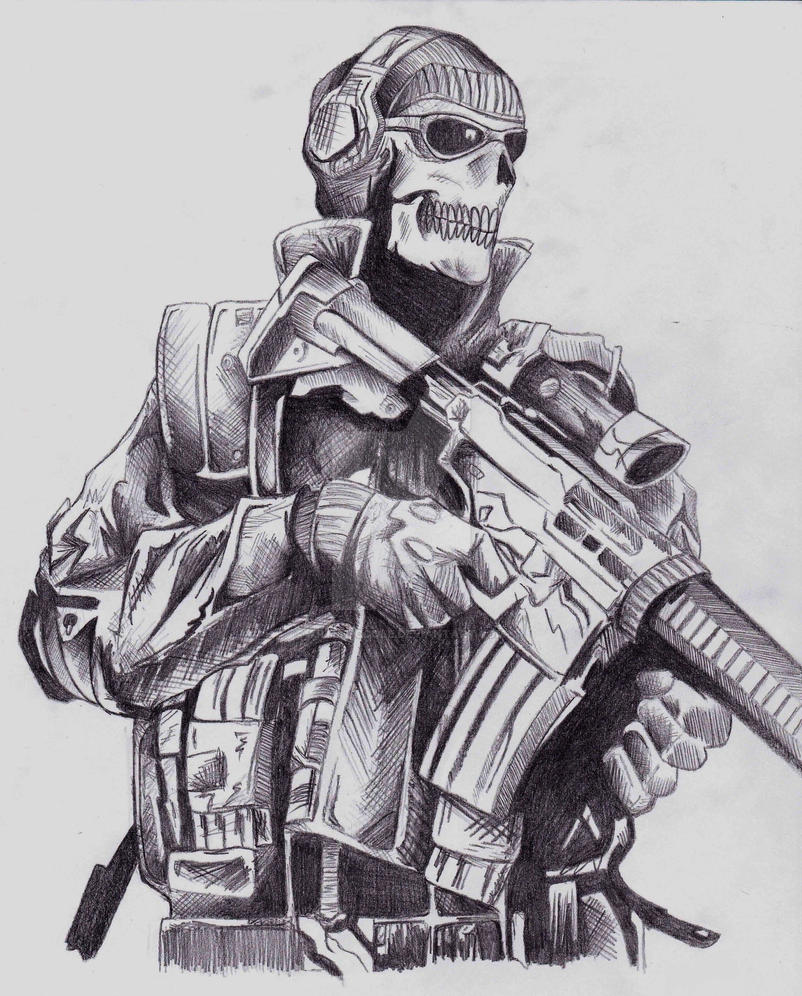 Ghost MW2 by ArtisticCole on DeviantArt