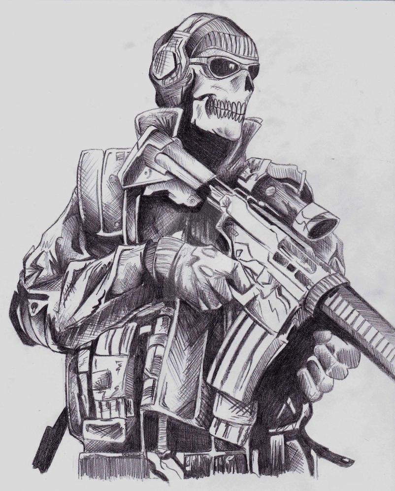 Ghost MW2 by ArtisticCole on DeviantArt