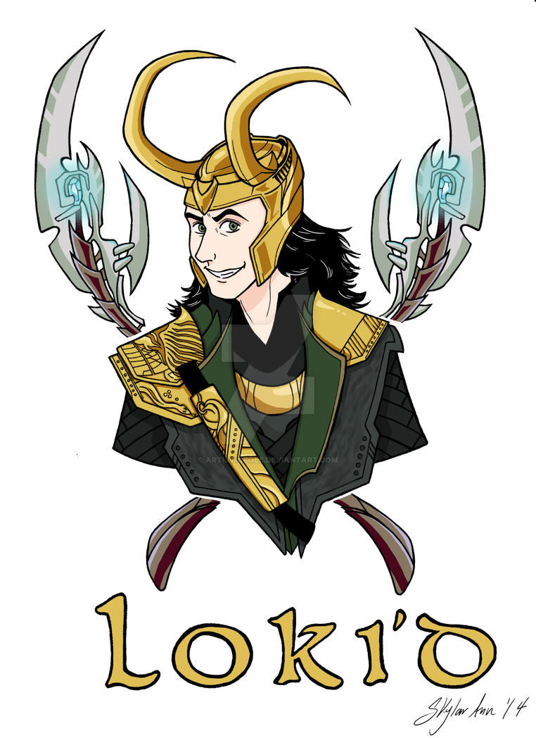 Loki'd by ArtisticCole