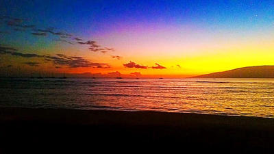 Sunset in Lahaina, Maui, HI by epperfectgirl