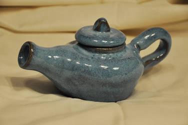 Blue Teapot by TerrenaAnimula