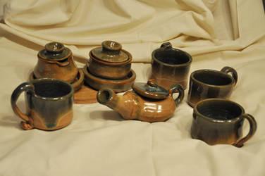 Tea Set by TerrenaAnimula