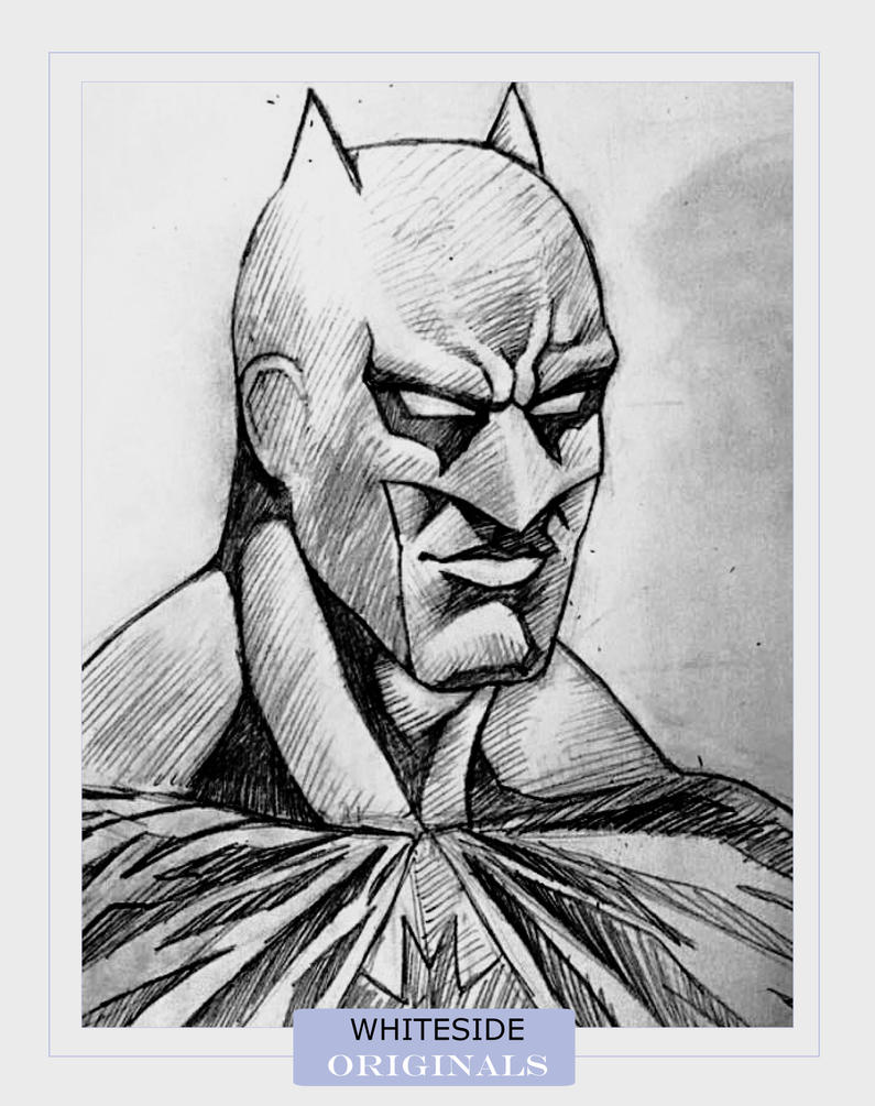 Batman Face shot by BriceWhiteside