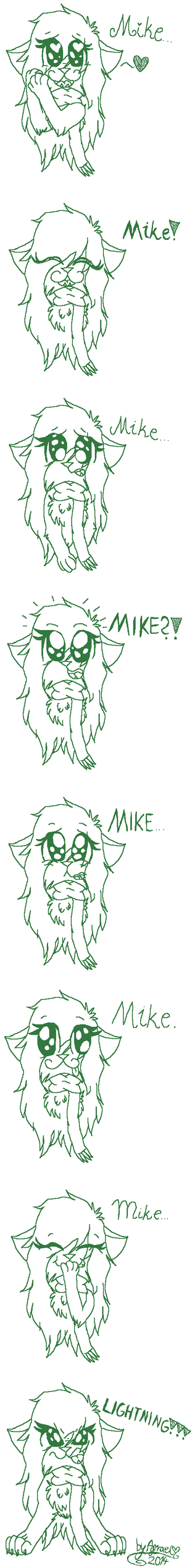 My Feelings For Mike [Total Drama] by AgraelLPS