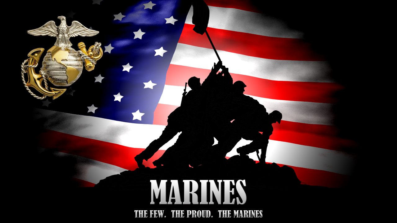 Marines Background by VizionStudiosUsmc Wallpaper Hd The Few The Proud