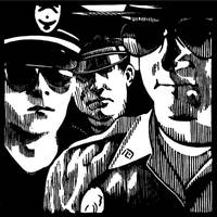 Policemen by InnocenceBurning