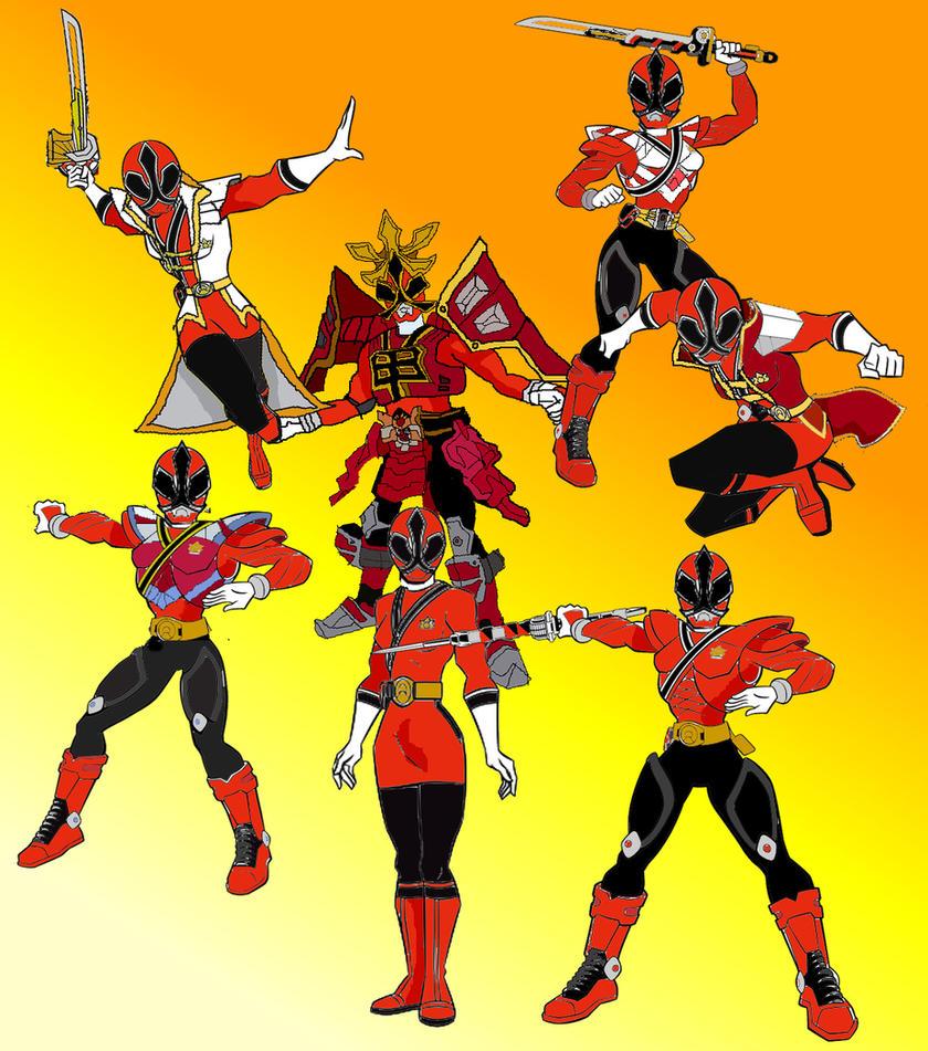 power rangers super samurai red ranger girl wwwpixshark