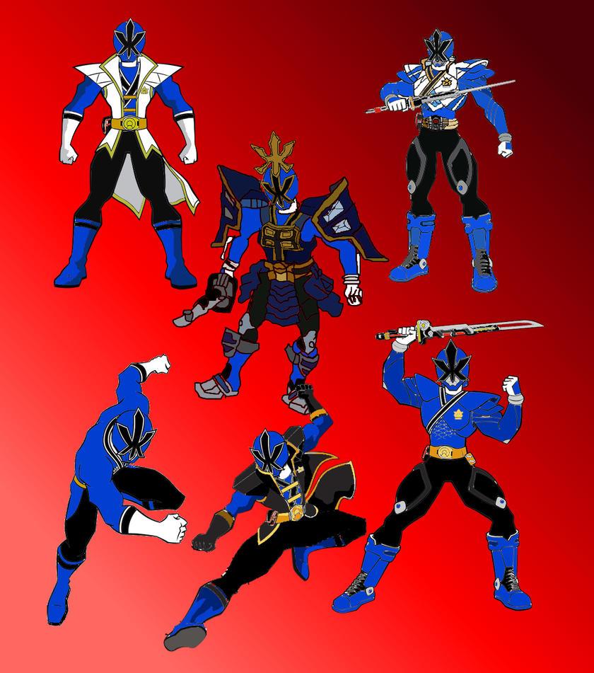 Blue Samurai Ranger by LavenderRanger on DeviantArt