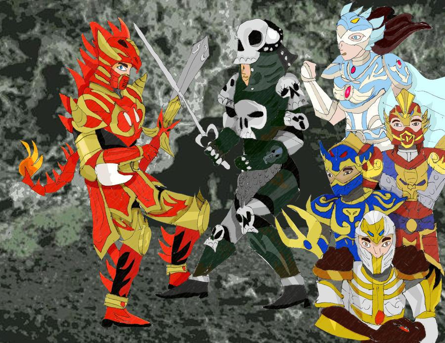 Knights in Battle Wallpaper Mystic Knights Battle Thunder