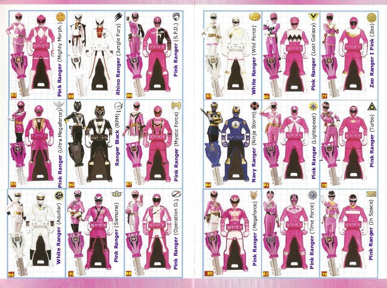 Power Rangers SUPER Megaforce Keys - Pink by ...
