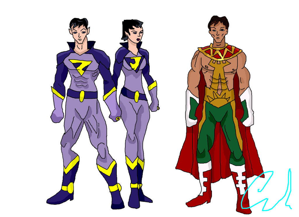 Super Friends  Wonder Twins and El Dorado by LavenderRangerYoung Justice Wonder Twins