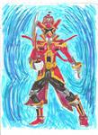 Super Megaforce Red Battlizer