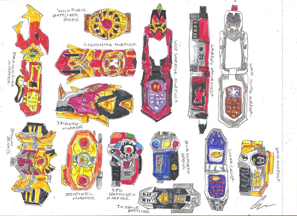 Power Rangers Beast Morphers Coloring