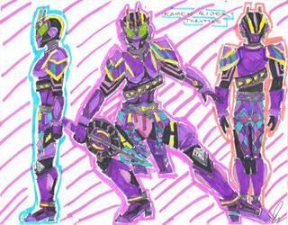 Kamen Rider Throttle by LavenderRanger