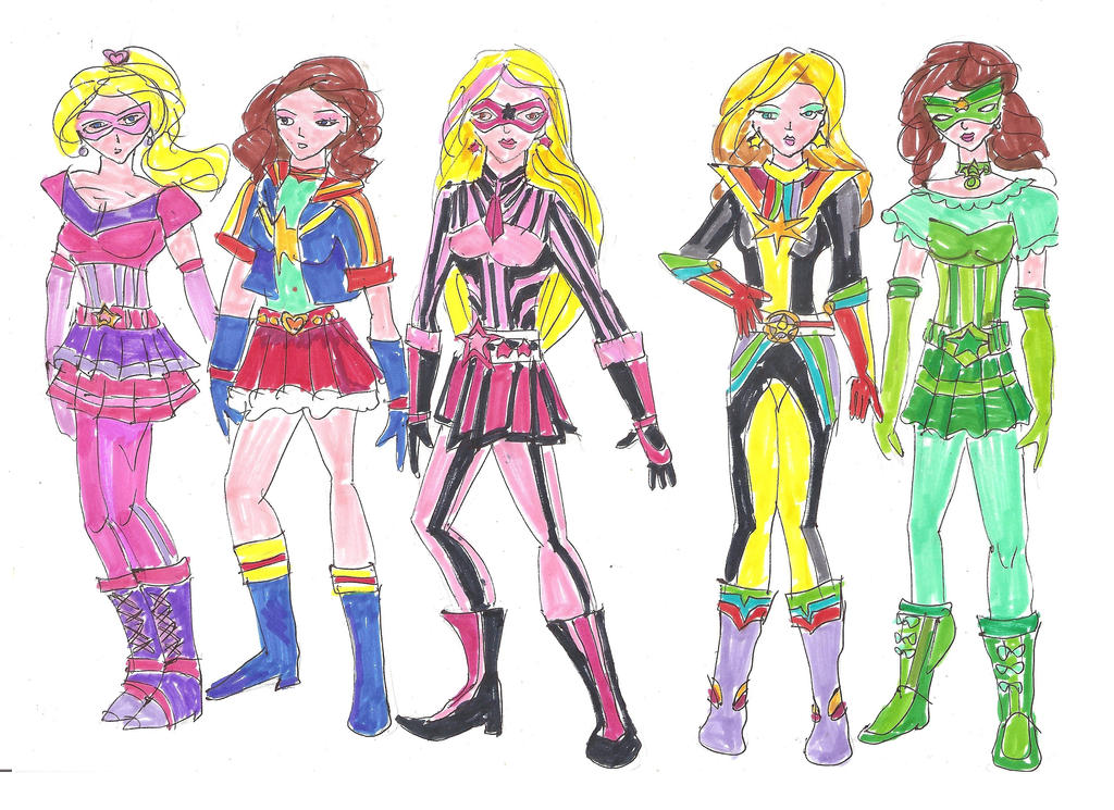 Spectrum Riders - First Draft by LavenderRanger