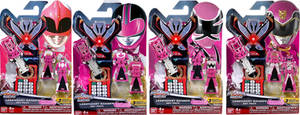 FAKE Breast Cancer Awareness - Pink Ranger Keys