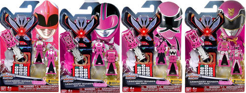 FAKE Breast Cancer Awareness - Pink Ranger Keys