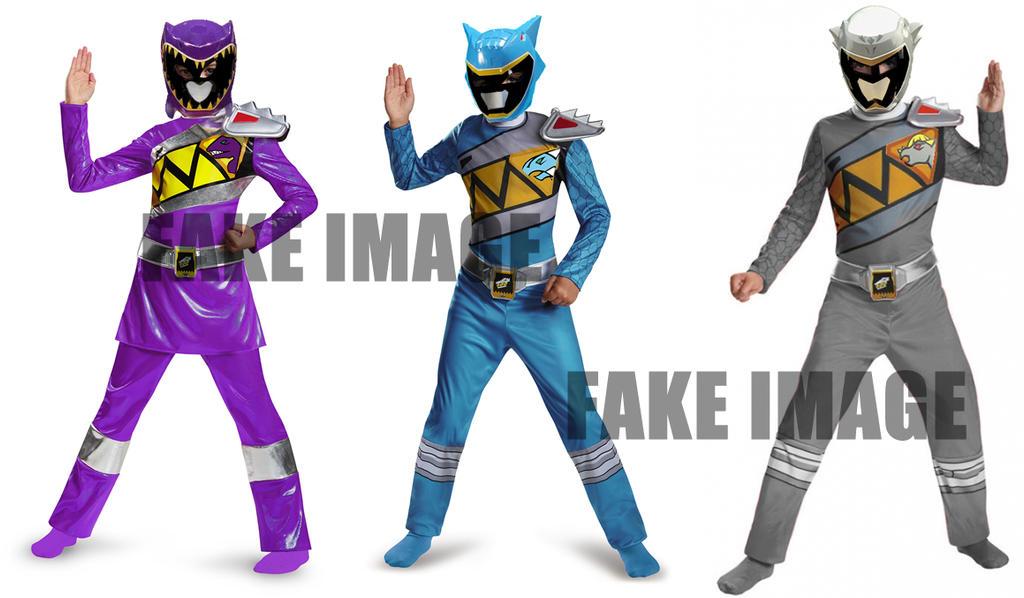 Fake - Halloween costumes Purple, Cyan Graphite by LavenderRanger
