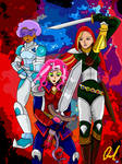 Princess Skyla and crew by LavenderRanger