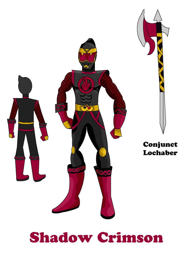 Conjunctiger - Shadow Crimson by LavenderRanger