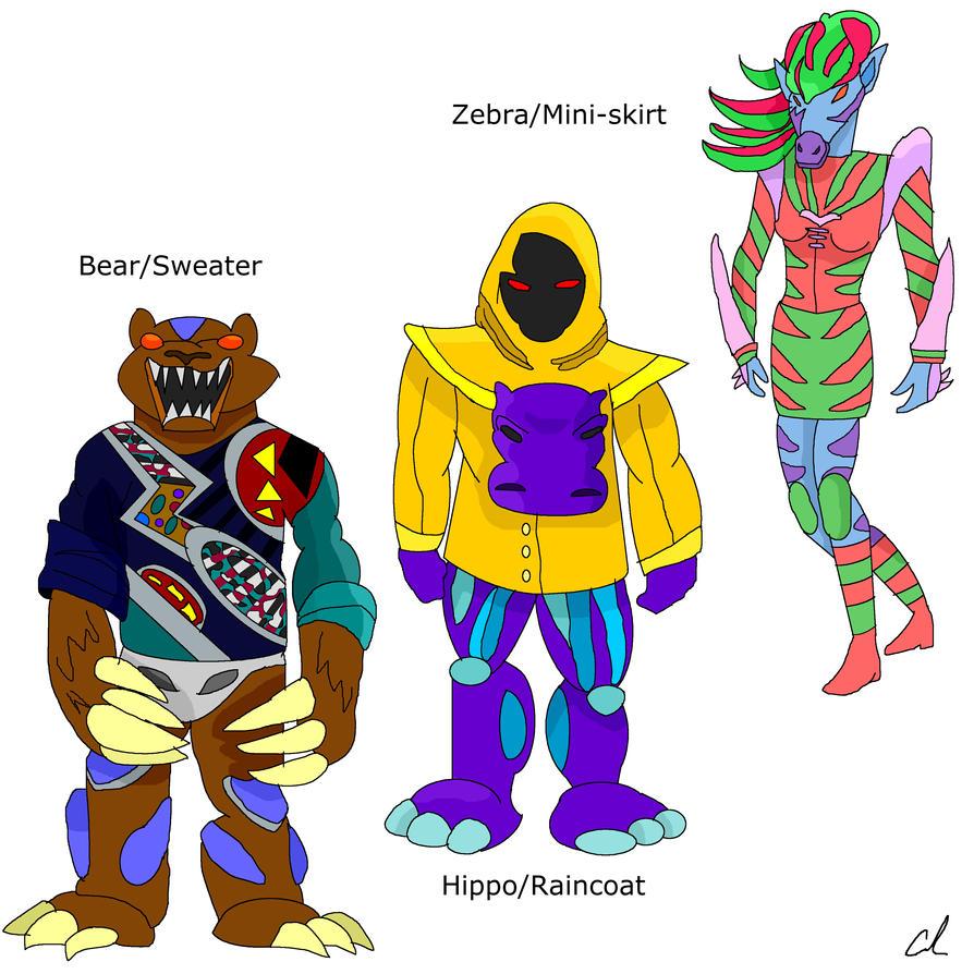 Conjunctiger-Besuto no Torena's Monsters 2 by LavenderRanger