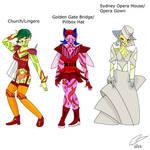 Conjunctiger-Dragon Amber's Monsters 2 by LavenderRanger