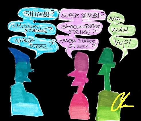 Ninja Steel Name Debating by LavenderRanger