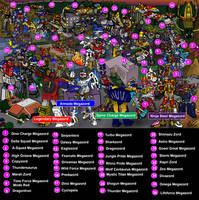 Megazord Battle - Name Search