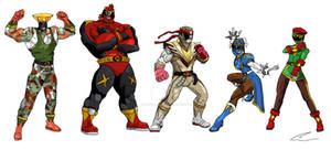 My Street Fighter Rangers