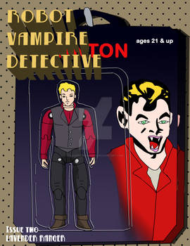 Robot Vampire Detective Issue 2 Variant 1