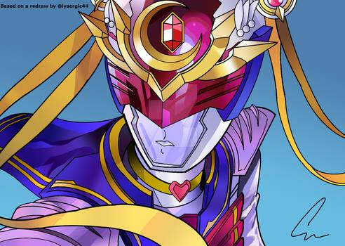 Super Sailor Moon Ranger - Original by lysergic44