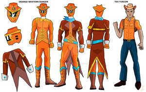 Orange Western Ranger