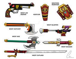 Western Ranger Weapons