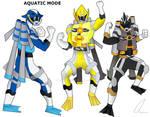 Aquatic Mode Powerup (Boys) by LavenderRanger