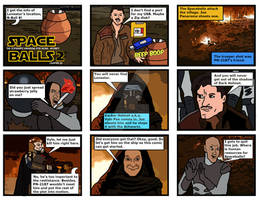 Spaceballs 2 Parody Comic 1