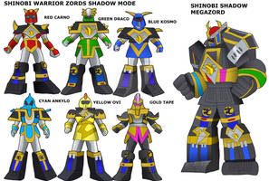 Shinobi Shadow Megazord