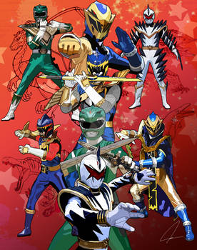 Sixth or Evil Dino Rangers