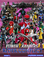 Power Rangers Rider Conflict Issue One Cover