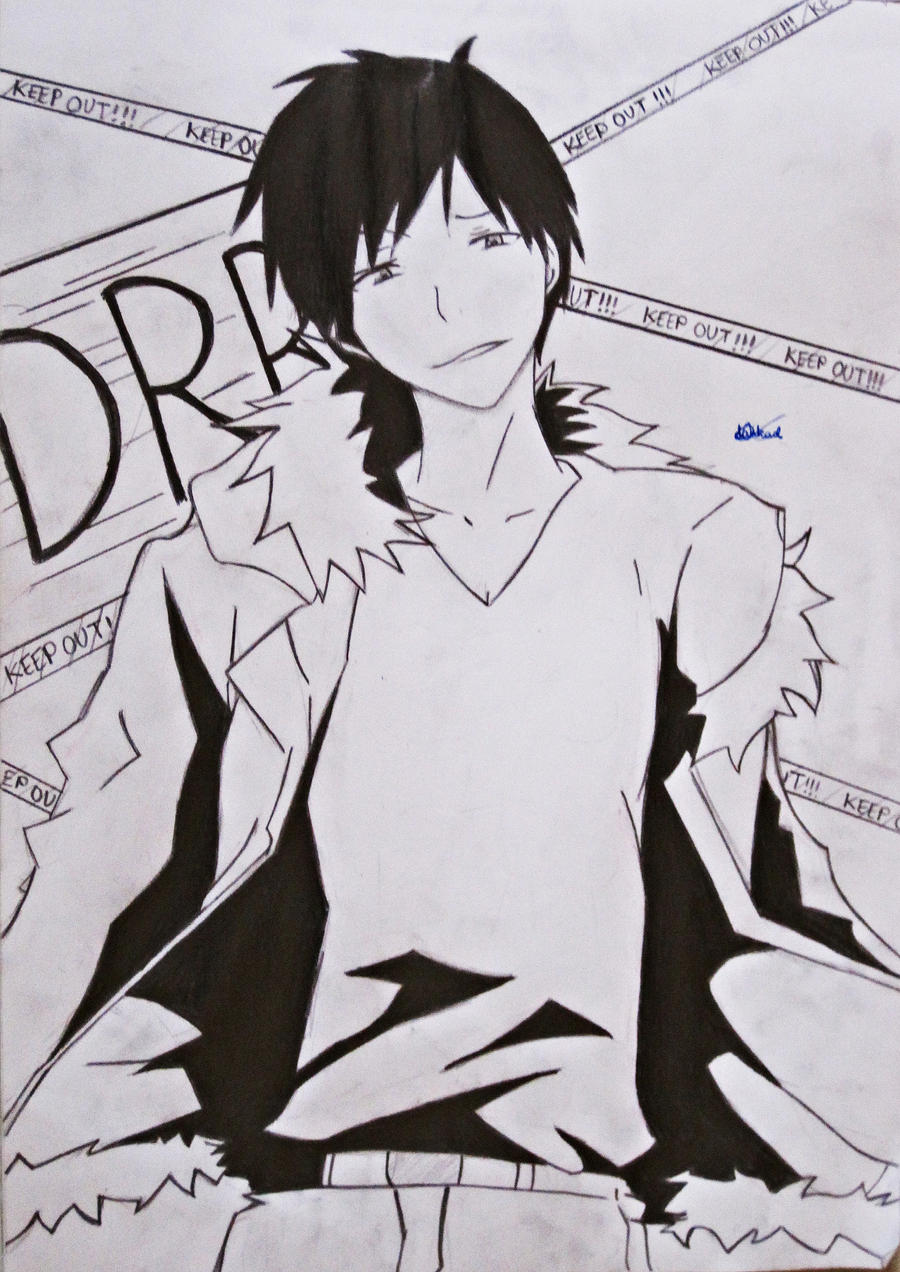 Orihara Izaya by darkaslayer