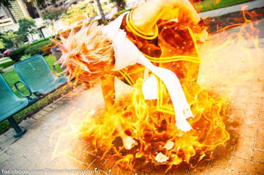 Natsu Dragneel:  I won't lose!! by OORR