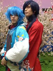 Koujaku and Aoba AX 2015 (2) by OORR