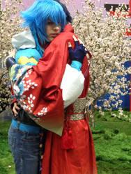 Koujaku and Aoba AX 2015 (3) by OORR