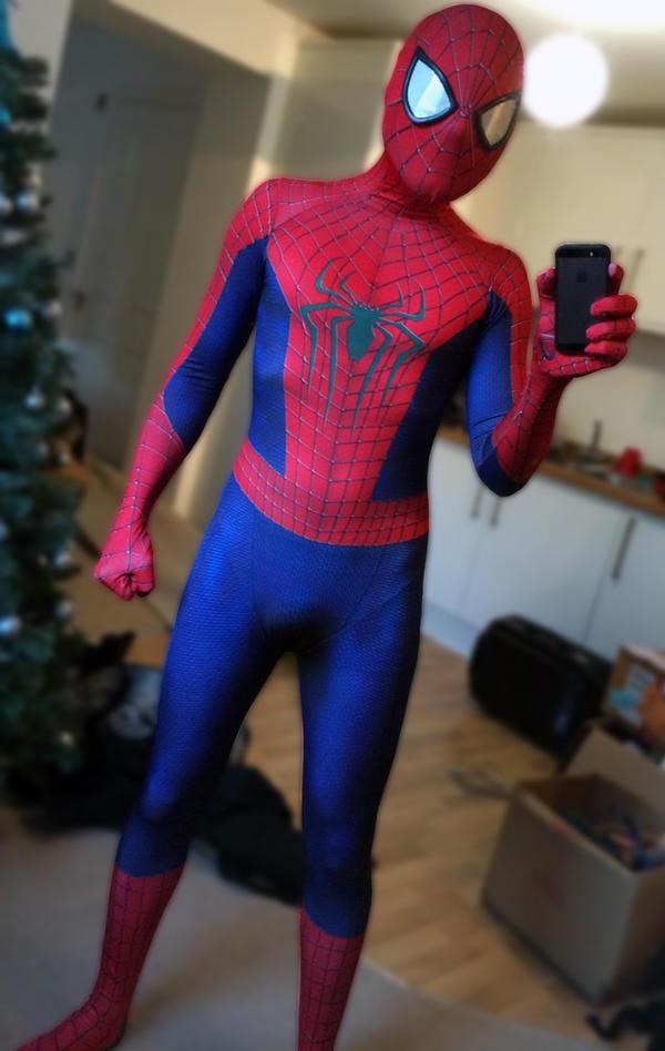 Amazing Spider-Man 2 Cosplay by ANTHONYGREY ... & Amazing Spider-Man 2 Cosplay by ANTHONYGREY on DeviantArt