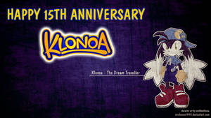 HAPPY 15TH ANNIVERSARY KLONOA!