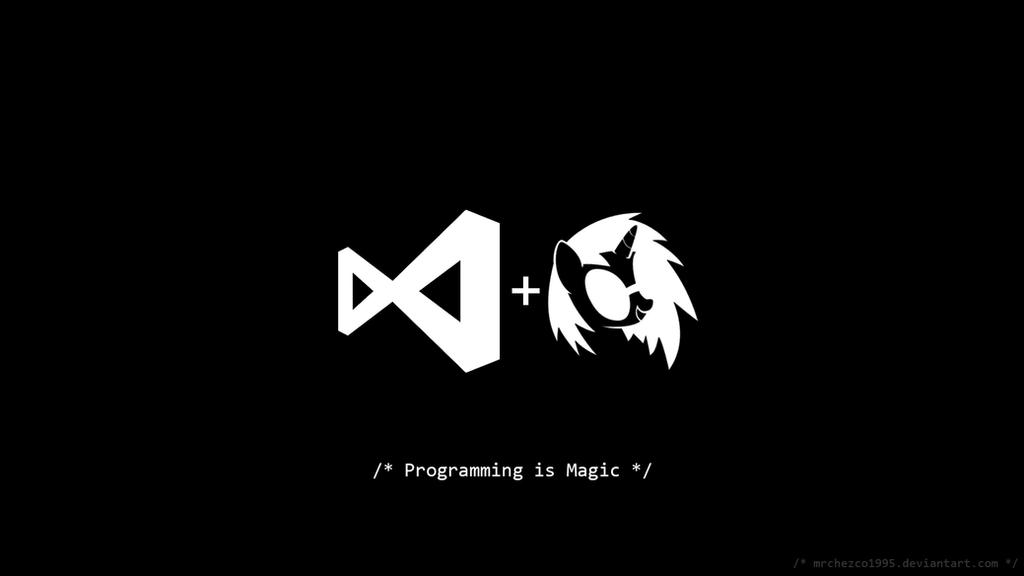 vs vs programming is magic by mrchezco1995 on deviantart