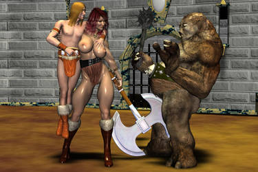RGGC 2009 - Bare-Barian by robtbo