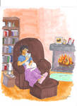 By the fireplace : markers by kalany