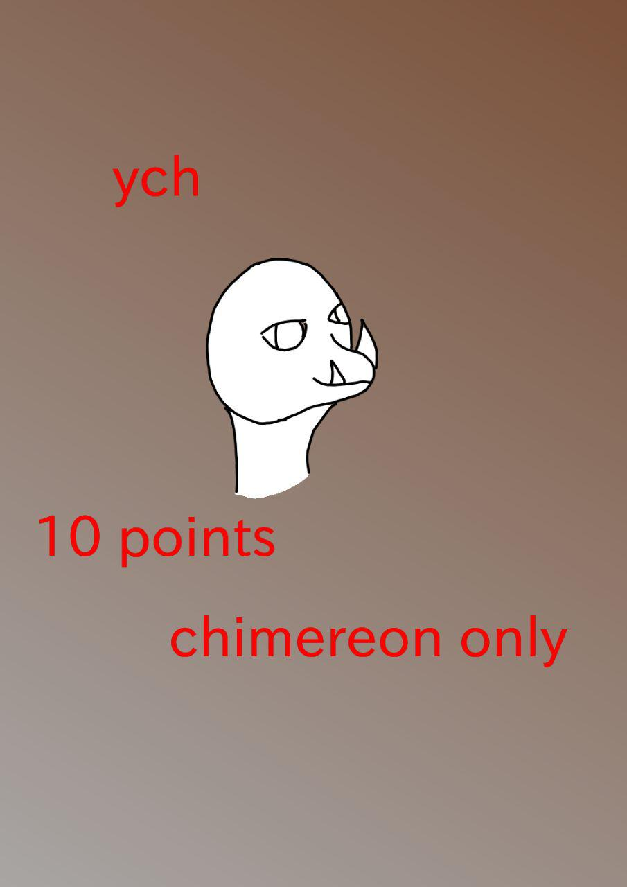 Chimereon ych 10 points each by Fangthewolf0209
