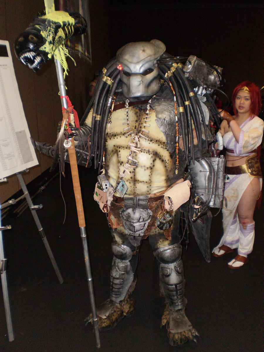 Predator Cosplayer by wild4matt on DeviantArt · Awesome predator cosplay costume ... & Similiar Predator Cosplay Suit Keywords