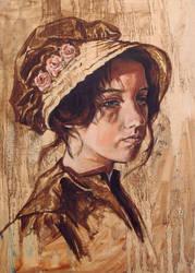 Regency Self-Portrait by lachwen